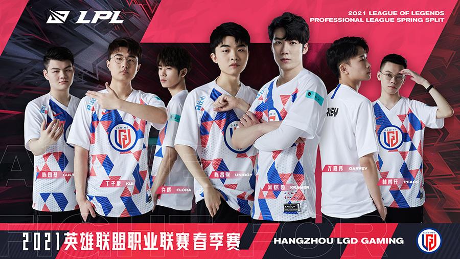 Đội hình LGD Gaming LPL Mùa Xuân 2021