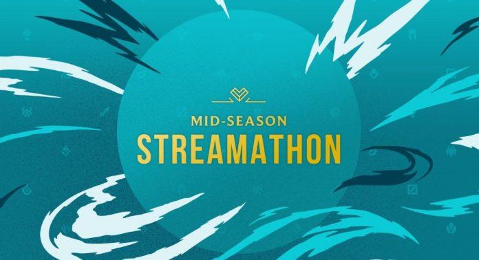 LOL ESPORTS Mid-Season Streamathon 2020 gây quỹ hỗ trợ COVID-19