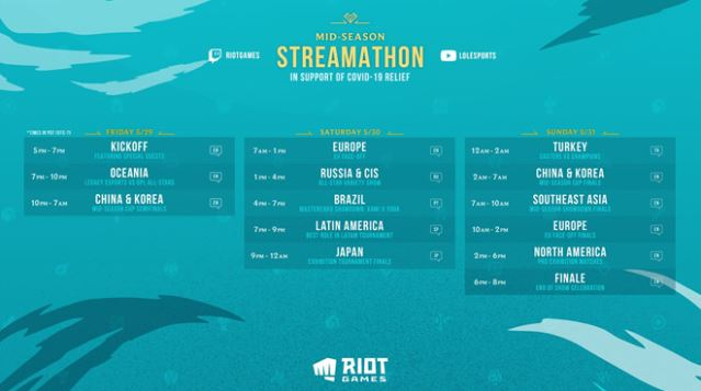 Mid-Season Streamathon 2020 (29.05-31.05)